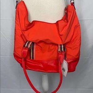 Tyler Rodan Oxford Weekender Soleil Red Bag